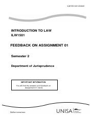 ILW1501_2020_S2_ASSIGNMENT 01_ANSWERS AND FEEDBACK.pdf