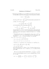 Math 325 Assignment 7 Solutions