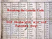 Lecture 18- Breaking The Genetic Code