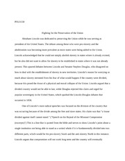 Foundations of American Democracy second essay
