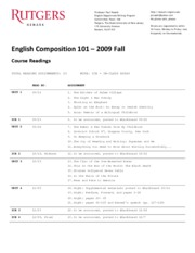 101_2009_Fall_Course_Readings
