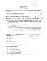 Chem3374A Assignment 1