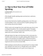 Pocket_ 10 Tips to Beat Your Fear of Public Speaking