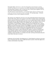 filmst intro to cinema ucsb page course hero 1 pages memento essay