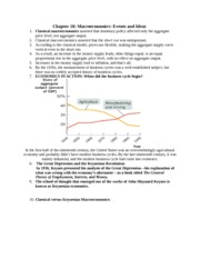Chapter 18 Powerpoint Notes