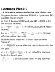 ACTSC 231 Lectures Week 2