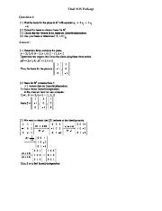 MATH 136 FINAL REVIEW QUESTIONS