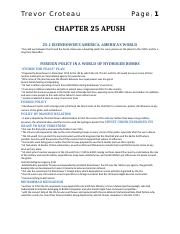 Chapter 25 - Quizlet