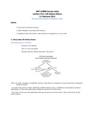 ANT 154B Course notes- Lecture _11