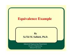 03B_IE 315 - EE - Equivalence_Problems
