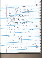 Matrix Equations Notes
