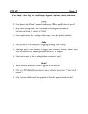 Chapter 2 - Case Study Questions