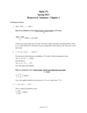 MA373 S13 Homework Chapter 1 Solutions