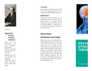 Wk 1 Psychodynamic Theories Brochure