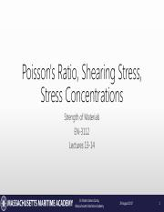 Lecture 13-14 - Poisson and Stress Concentrations.pdf