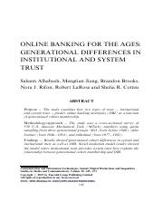 Online Banking for the Ages Generational Differences in Institutional and System Trust.pdf