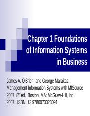 chapter1introductiontoinformationsystem-170131150423