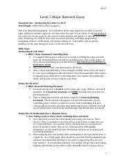 L5 Major Researh Essay Handout Fall 2017 _ss copy_.doc