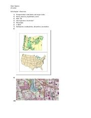 GIS Chapter 1 Exercises