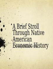 03 Native American Economic History.ppt