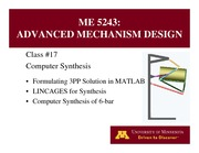 Lecture 17 on Advanced Mechanism Design