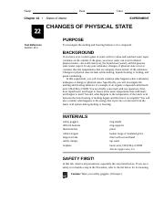Changes of Physical State.doc