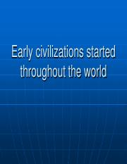 Early civilizations and Ur