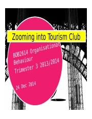 BOB 2824 Zooming into Tourism Club