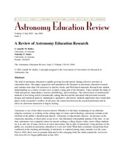 Review_Astronomy_Ed_Research