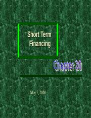 Ch-03- Sources of financing