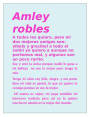 tita amley robles