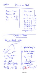 Class 16 Notes problems and solutions