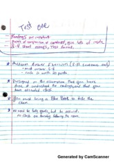 Test 1 Notes