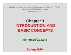1- Introduction and Basic Concepts