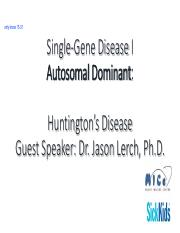 Single-Gene Disease I_Intro to Dr Lerch_646382