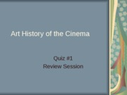 Quiz1Review PowerPoint