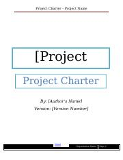Project-Charter-Template