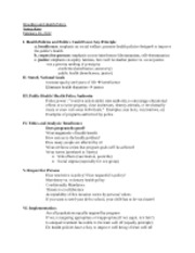 Lecture 7 Notes -Bioethics and Health Policy 02-20-2012