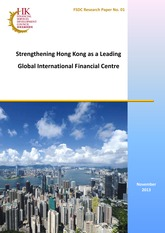 FSDC Reserach Report on Strengthening Hong Kong as a Leading Global International Financial Centre