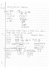 Solving Rational Equations Notes