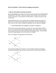 Review Worksheet 7