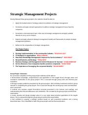 Strategic Management Projects.docx