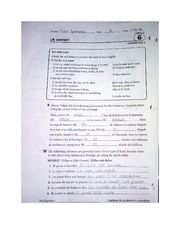 Worksheet On Chapter 6 Grammar Spanish 1 Sniethingtastes Looksmrfeels Aitacertaintime If U2018u Ufb01efheverb Ser U2018 1 To Tell The Time The Day Or The Course Hero