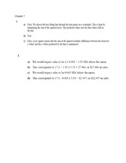 Chapter 7 Problem Solutions