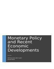 Role of the RBA and Monetary Policy.docx
