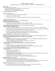 Resume - Sheldon Tan 110309