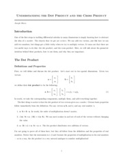 Understanding_the_Dot_Product_and_the_Cross_Product