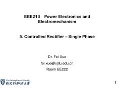 EEE213_Lecture5_Controlled rectifier 1_1Phase_XF