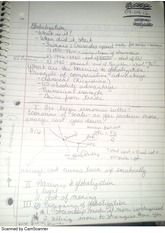International Economics Notes
