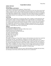 carpe diem essay outline Free essay: marvell to his mistress: carpe diem in andrew marvell's poem to his coy mistress, he's arguing for affection the object of the.